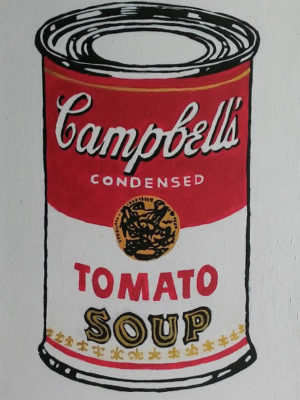 Campbell's Andy Warhol
