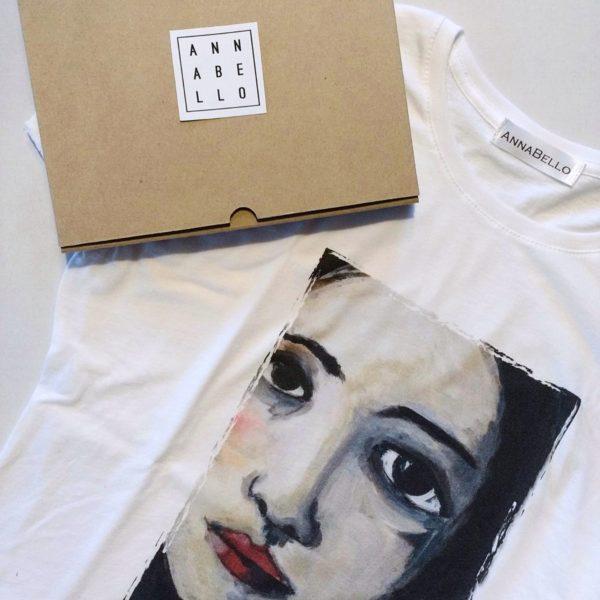 maglietta-stampa-volto-donna-vendita