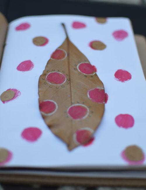 decorare-le-foglie-con-i-bambini
