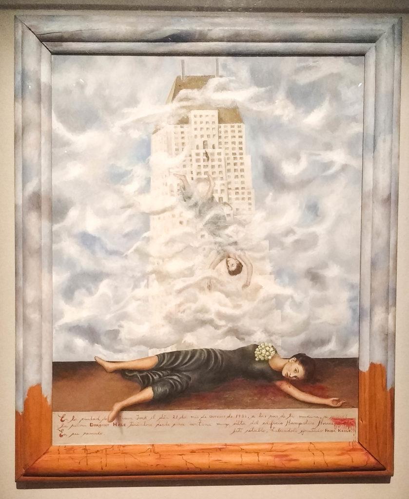 "Frida Kahlo""Il suicidio di Dorothy Hale"""