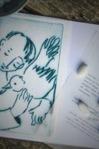 libro-fatto-a-mano-con-poesia-bomboniera-per-cerimonia religiosa