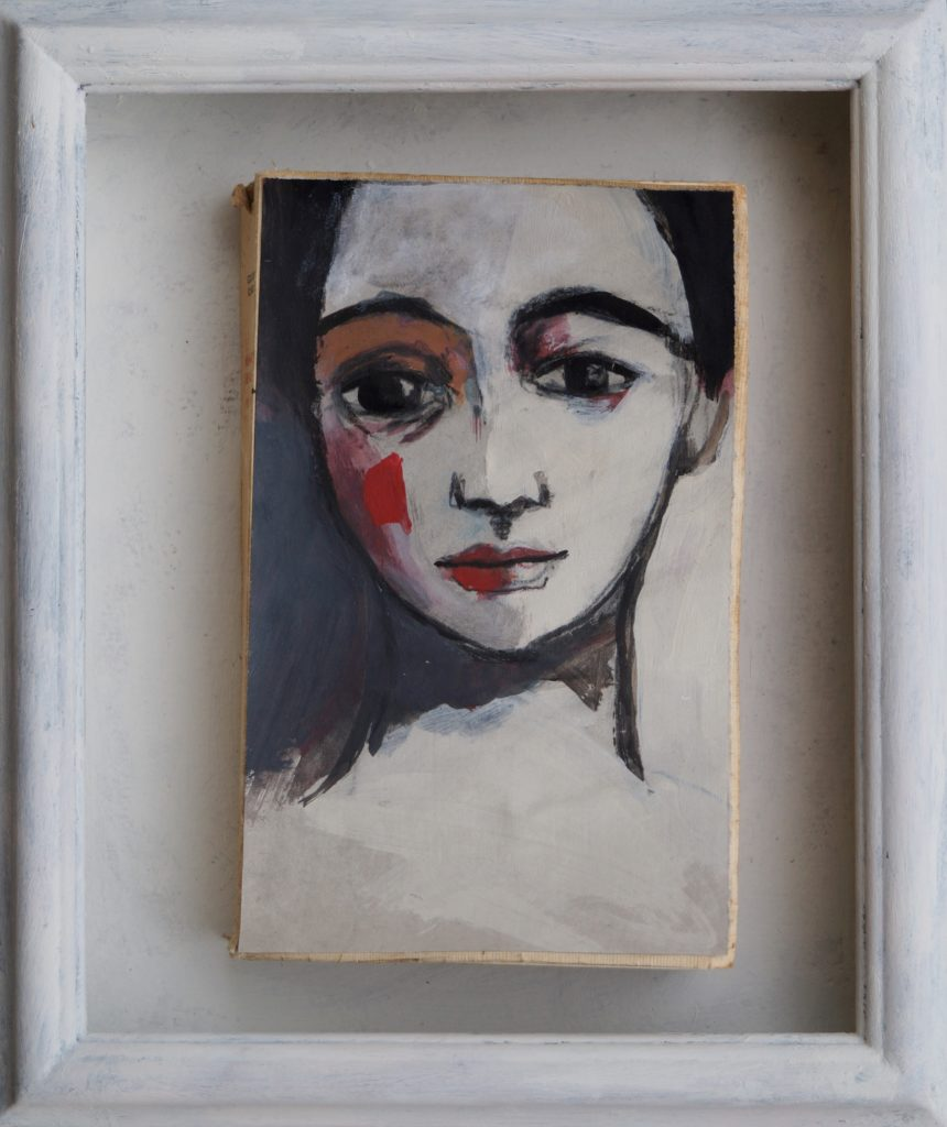 libro con in copertina opera di Anna Bello