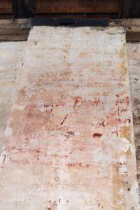 venezia-Isola-lazzaretto vecchio-muro-Tezon