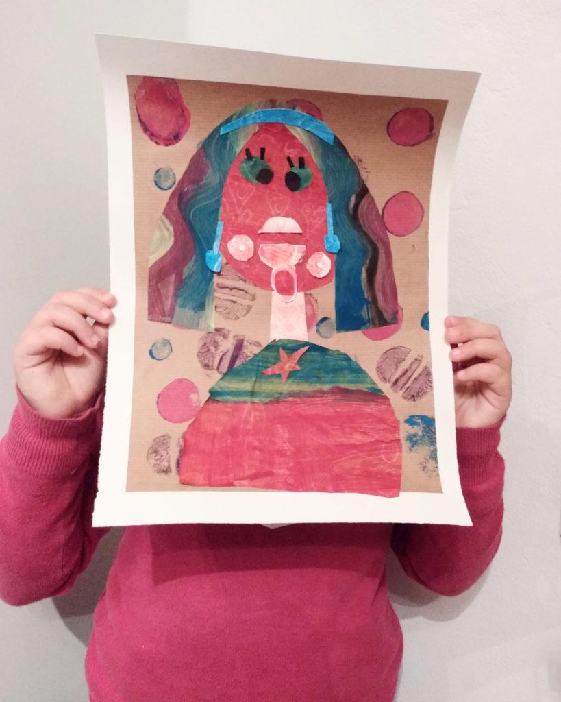 ritratto-a-collage-di-una-bambina