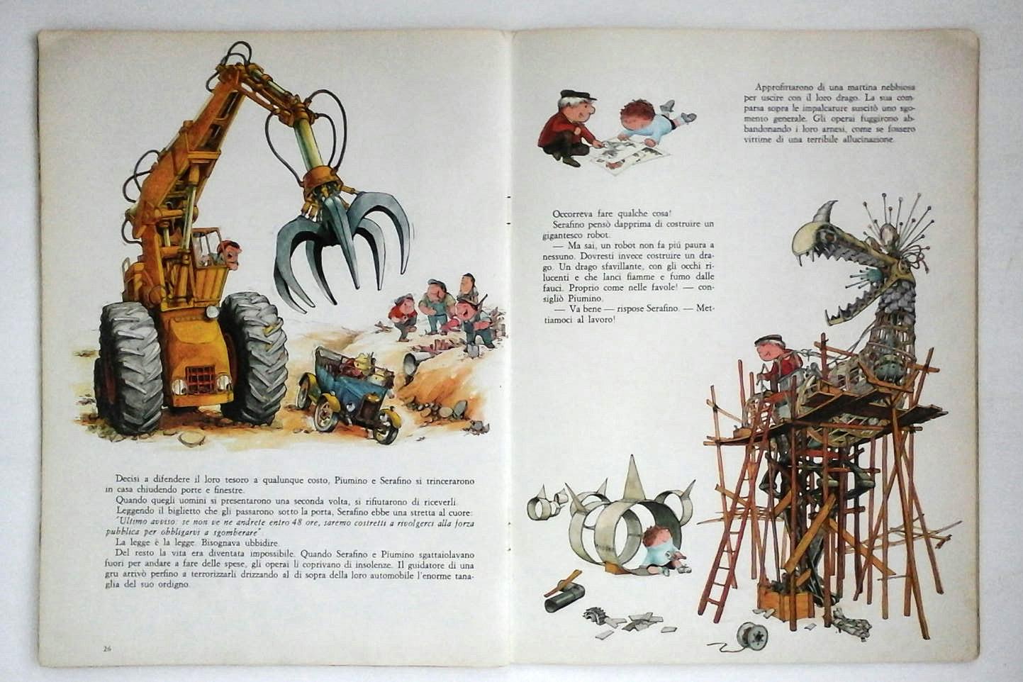 il fantastico mondo di Serafino Philippe Fix 1969